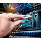 cabeamento estruturado e fibra óptica preço Jaraguá